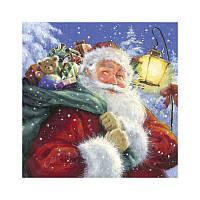 """Салфетки для декупажа """"Santa""""№1 33*33 см"""