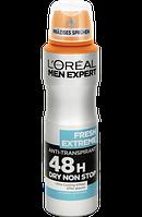 L'Oreal Men Expert Дезодорант-антиперспірант Fresh Extreme 150мл.