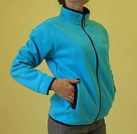 Женская спортивная толстовка Jack Wolfskin 179 голубая код 2041А