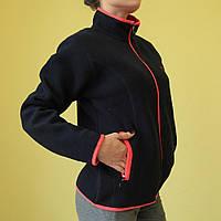 Женская спортивная толстовка Jack Wolfskin 179 тёмно-синяя код 2044А