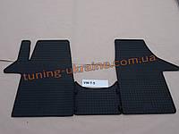 Коврики в салон резиновые Politera 3шт. для Volkswagen T5 2003-2010