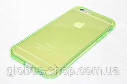 Чехол силиконовый iPhone 5s, салатовый