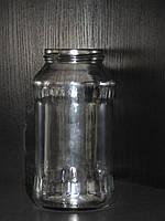 Банка стеклянная 720 мл с горловиной твист 66 мм (15 штук в упаковке)
