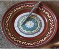 Керамическая тарелка 20см фляндровка