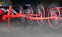 Грабли ворошилки на 4 солнышка Biardzki (Польша)