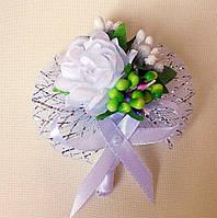 Бутоньерка для жениха и невесты №3