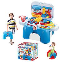 Игровой набор доктор чемодан-стульчик