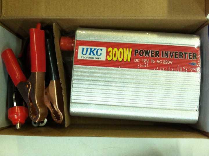 Преобразователь инвертор 12V-220V UKC 300W USB