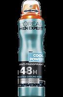 L'Oreal Men Expert Дезодорант-антиперспірант Cool Power 150мл.