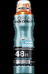 Дезодорант антиперспірант L'Oreal Men Expert Cool Power 150мл.
