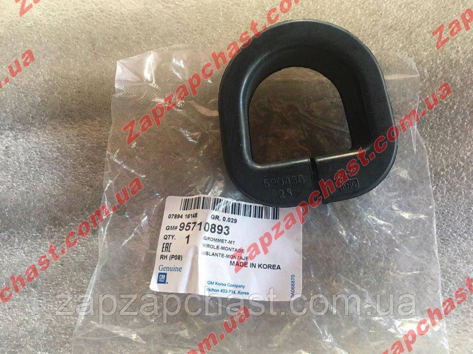 Подушка втулка рулевой рейки левая Ланос Сенс Lanos Sens GM 520436\95710893