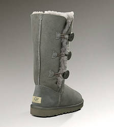 Угги UGG Bailey Button Triplet Grey топ реплика