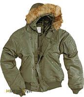 Куртка лётная N2B США (Аляска), olive
