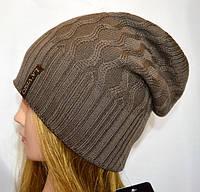 Женская шапка, двухсторонняя.