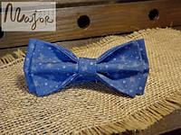 Бабочка синяя с одуванами Классик2