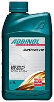 Масло моторное Addinol 0W-40 Superior 040 1л