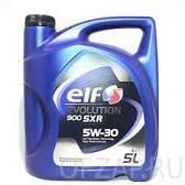 ELF  моторное масло  Evolution 900 SXR  5w30 5л. A5/B5 SL/CF