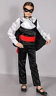 Детский карнавальный костюм Зорро 3-10 лет