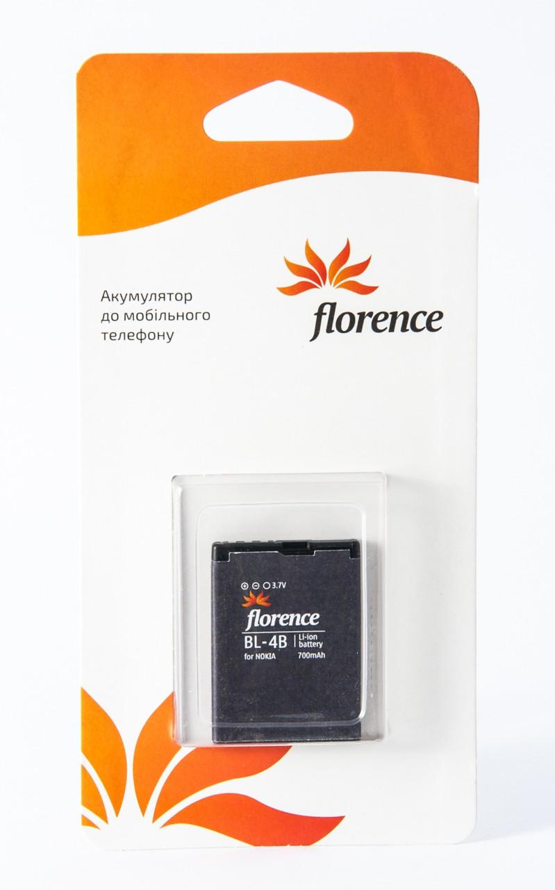 Батарея Florence для Nokia (BL-4B) 700mA