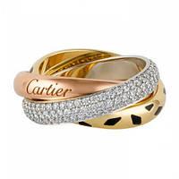 Кольцо в стиле Trinity de Cartier