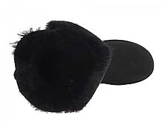 Угги UGG Bailey Button Triplet Black топ реплика, фото 2
