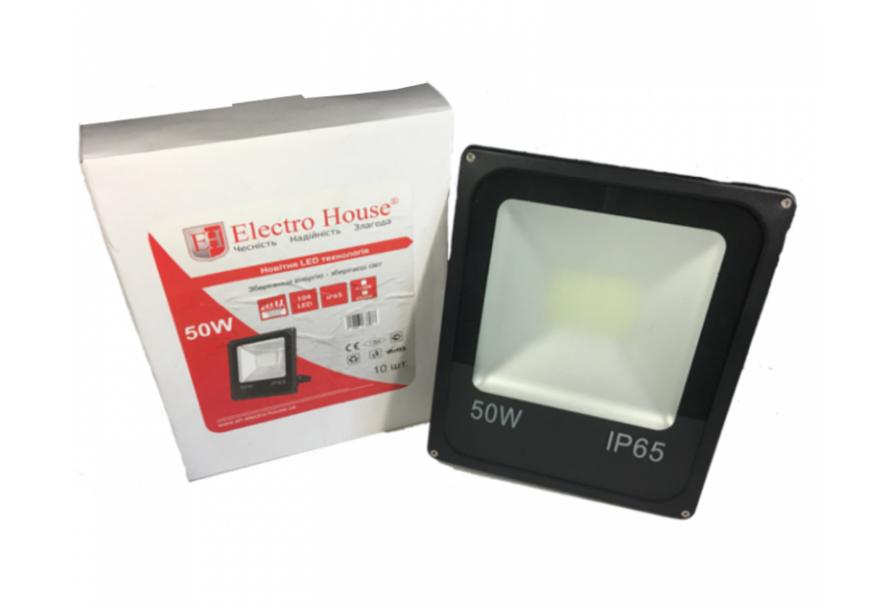 Светодиодный LED прожектор EH 50 Вт 6500К 5000 Lm