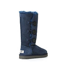 Угги UGG Bailey Button Triplet Blue