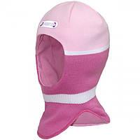 Зимняя шапка-шлем для девочек