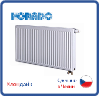 Стальной радиатор Korado тип 33 900*400 боковое подключение