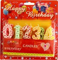 Свеча в торт G072-3 цифры (450054)