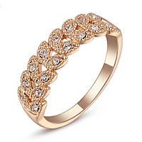 Кольцо с кристаллами Swarovski 20р.