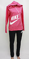 Яркий теплий женский костюм Nike на байке оптом и в розницу