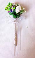 Бутоньерка свадебная №6