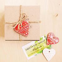 """Подарочная коробочка малая """"Сердечко"""", Ш95хГ90хВ65мм, фото 1"""