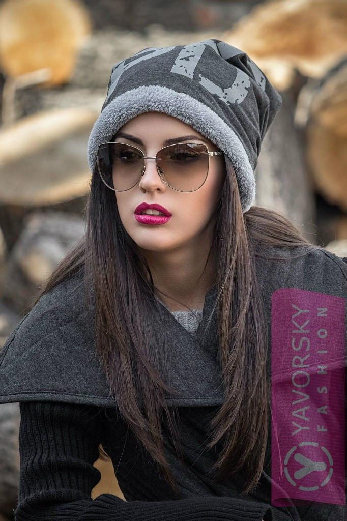 Шапка на меху - Интернет магазин женской одежды в Харькове