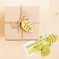 "Подарочная коробочка малая ""Лист"", Ш95хГ90хВ65мм, фото 1"