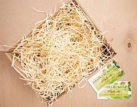 Подарочная коробочка с сеном большая, Ш200хГ155хВ100мм