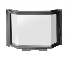 Дверка для камина с призматическим стеклом (49 х 71 см)