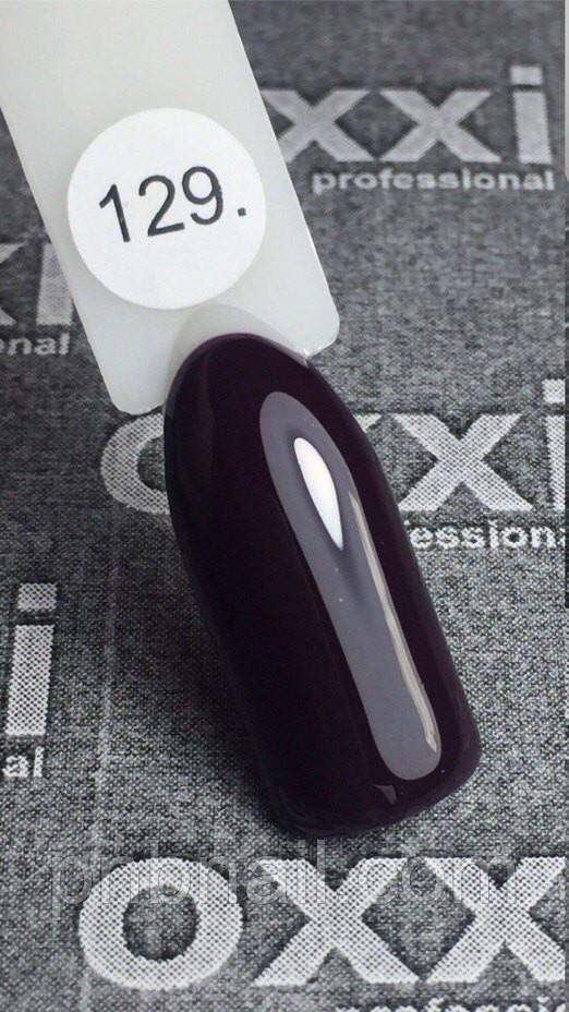 Гель-лак OXXI Professional №129, 8 мл