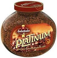 Кофе растворимый Ambassador Platinum , 190 гр