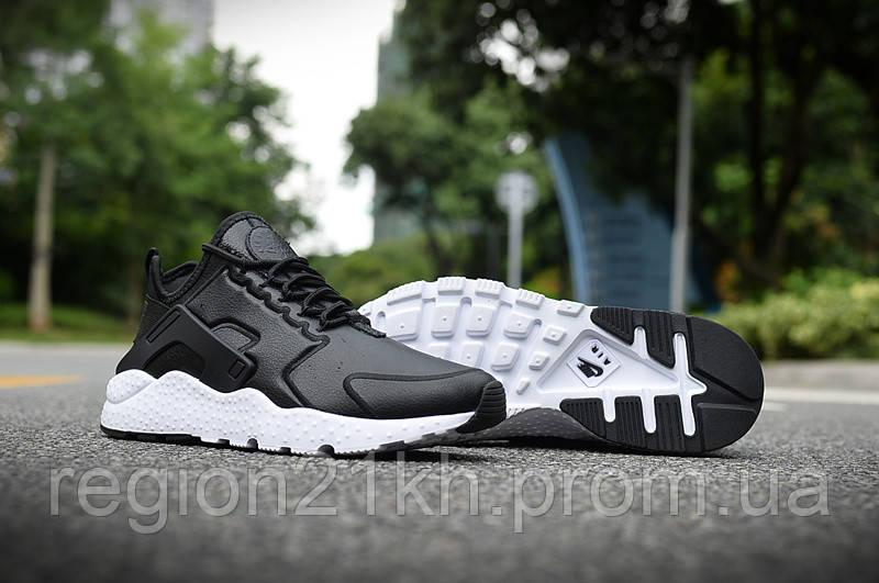 Nike Air Huarache Leather Black
