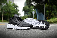 Nike Air Huarache Leather Black, фото 1