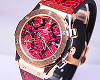 Часы Hublot Big Bang Gold  (змея Snake)
