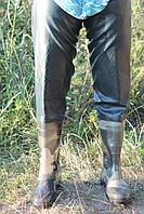 Заброды рыбака с наколенниками на силиконовом сапоге