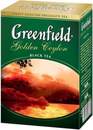 Чай черный Greenfield Golden Ceylon листовой 100гр.