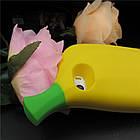3D Cute Banana Soft Silicon Case для iPhone 5/5S, фото 3