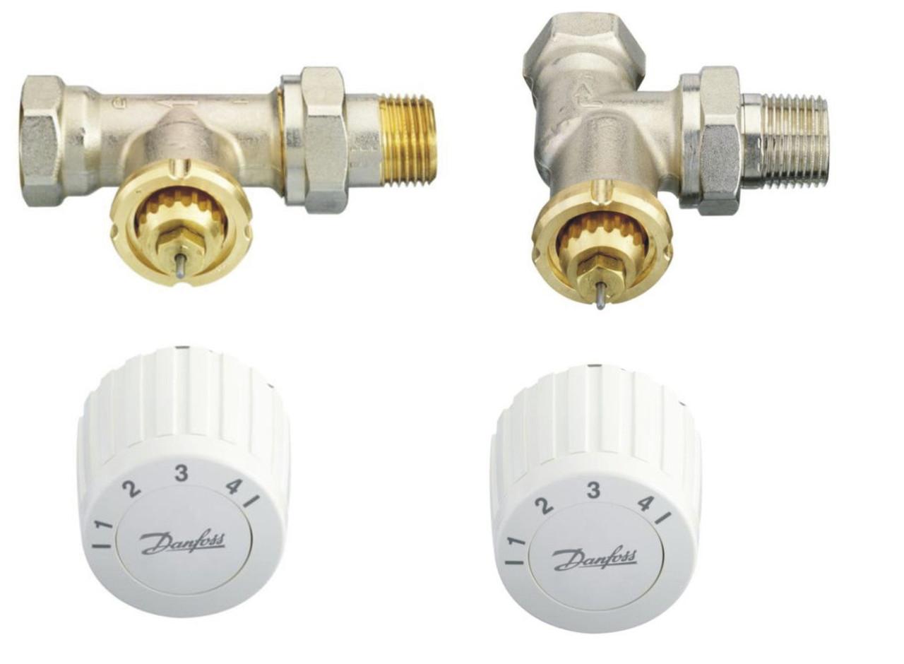 Комплект: терморегулятор FJVR 10-50 °С + термоклапан FJVR