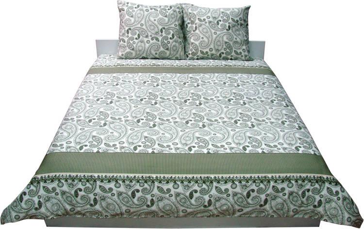 Комплект постельного белья Семейный РУНО 143х215 Сатин (6.137К_40-0377 Green khaki), фото 2