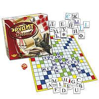 Настольная игра Эрудит Составь слово Scrabble