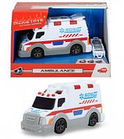 Функциональное авто Скорая помощь Dickie Toys 3302004